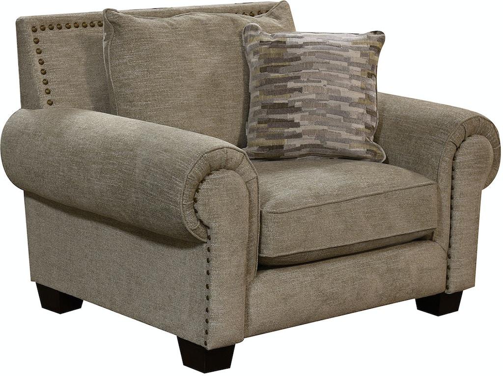 England Living Room Larado Chair And A Half 6t0004n