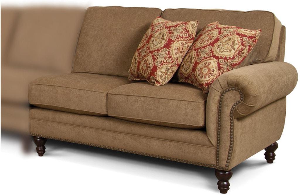 England Living Room Amix Raf Loveseat 7130 27 Moores Fine
