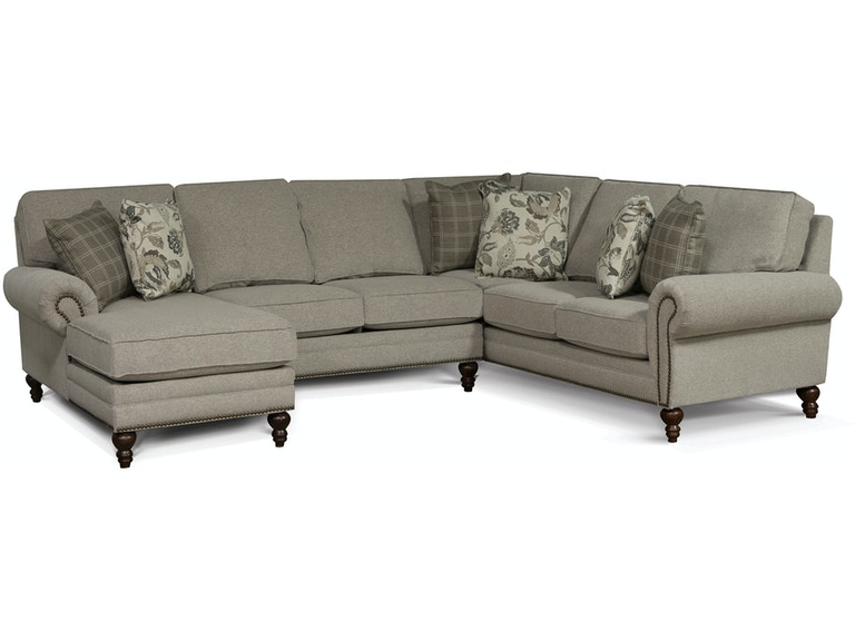 England Living Room Amix Sectional 7130-Sect - B.F. Myers ...