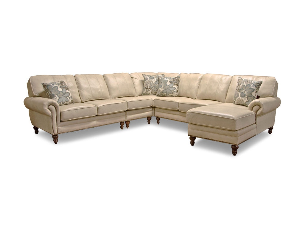England living room leight sectional 7130al sect bob for Sectional sofas okc
