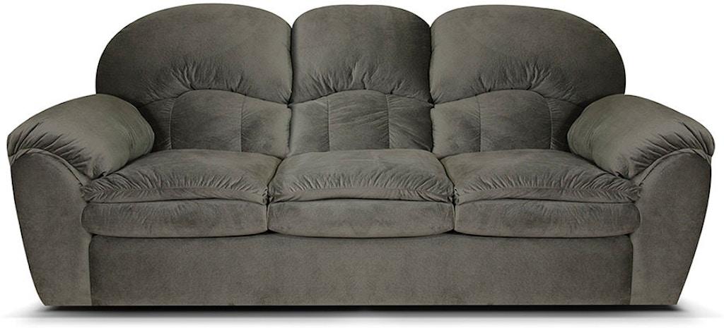 England Living Room Double Reclining Sofa Aerosmith Grey