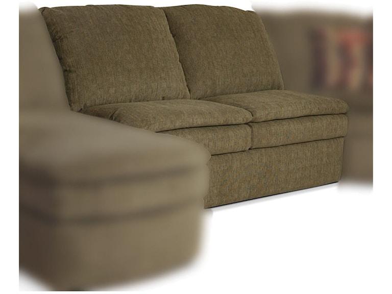 England Seneca Falls Armless Sofa 7300 40