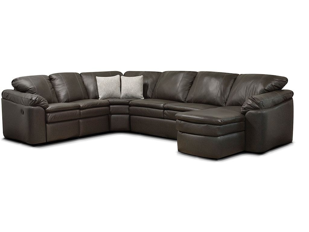 England living room lackawanna sectional 7300l sect for England leather sectional sofa