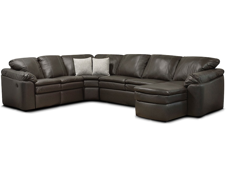 England Living Room Lackawanna Sectional 7300L-Sect - Turner ...