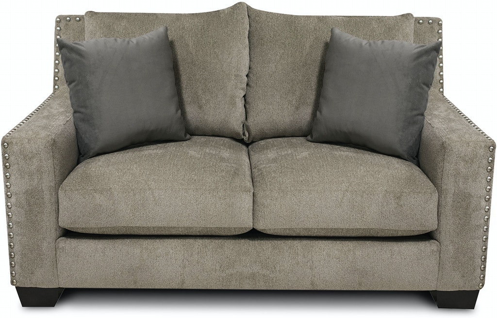 England Living Room Luckenbach Loveseat With Nails 7k06n