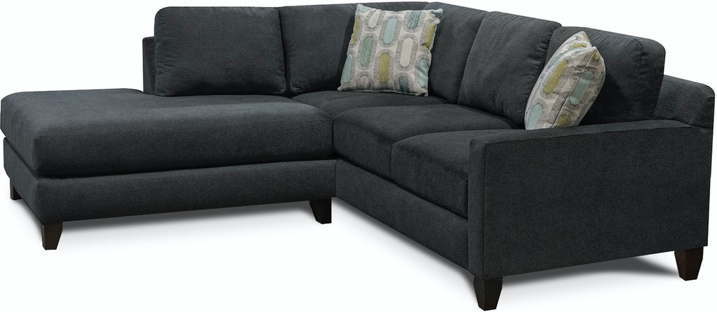 England Living Room Briar Sectional 7P00-Sect - Darby\'s Big ...