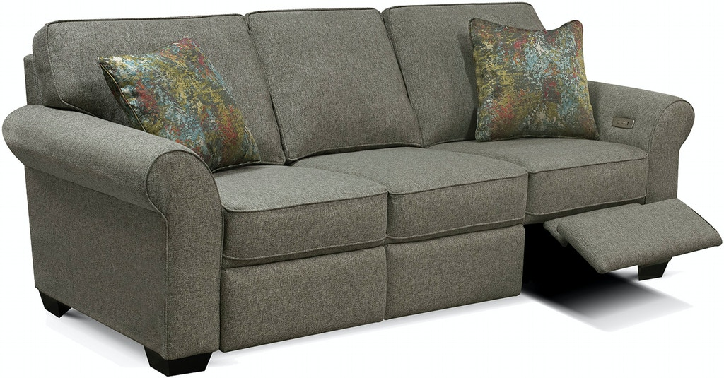 Admirable England Living Room Wallace Sofa With Power Ottoman 8H00 01 Customarchery Wood Chair Design Ideas Customarcherynet