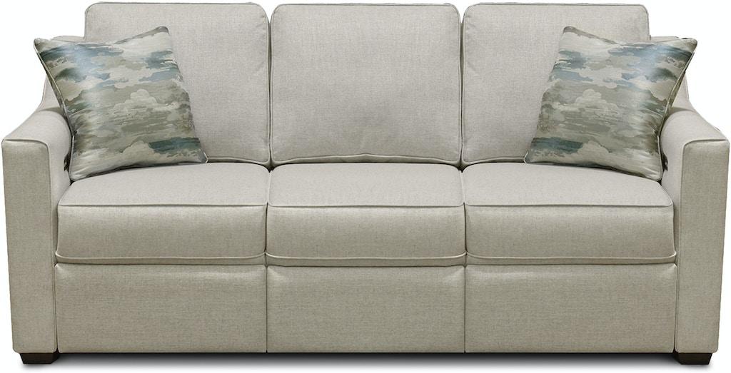 Pleasing England Living Room Quentin Sofa With Power Ottoman 8Q00 01 Customarchery Wood Chair Design Ideas Customarcherynet