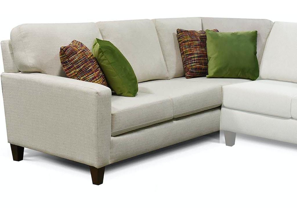 England Living Room Roxy Left Arm Facing Corner Sofa 8S00-64 ...