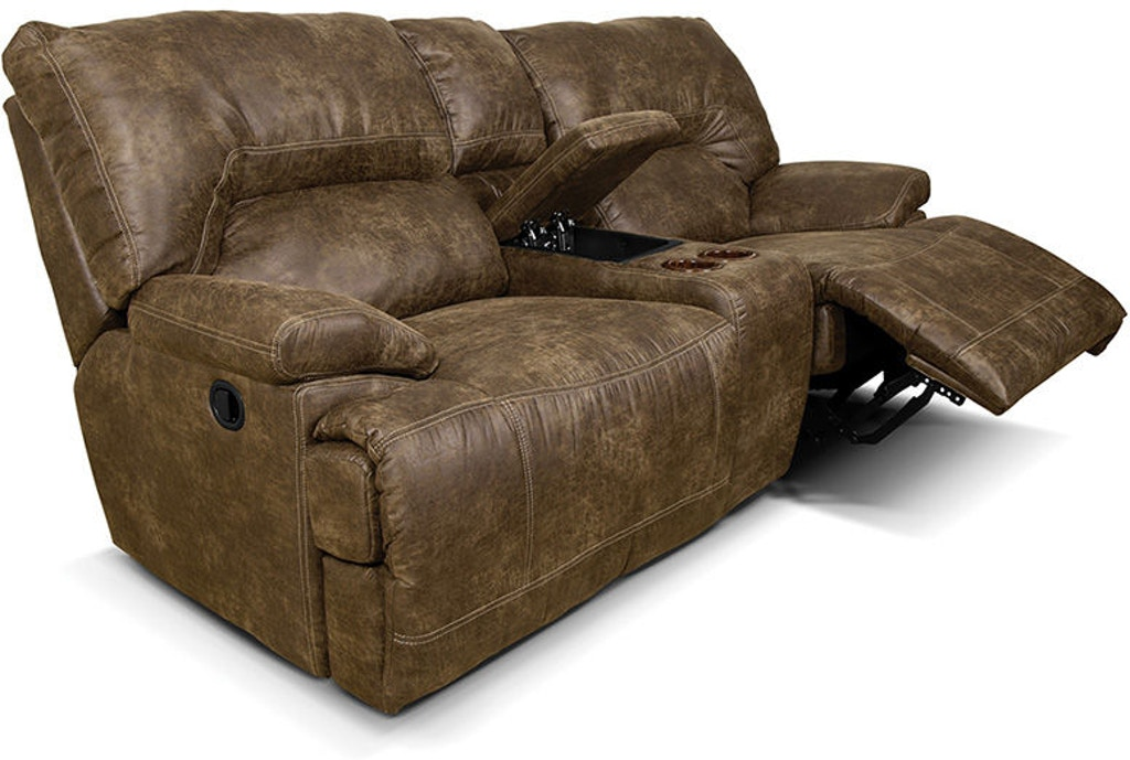 Sensational England Living Room Ez136 Double Reclining Loveseat Console Gamerscity Chair Design For Home Gamerscityorg