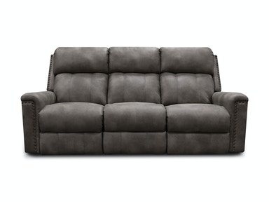 Reclining Sofa with Nails