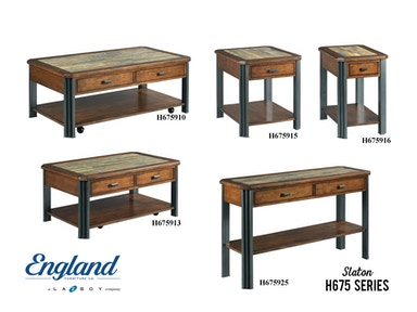 England Slaton Tables H675