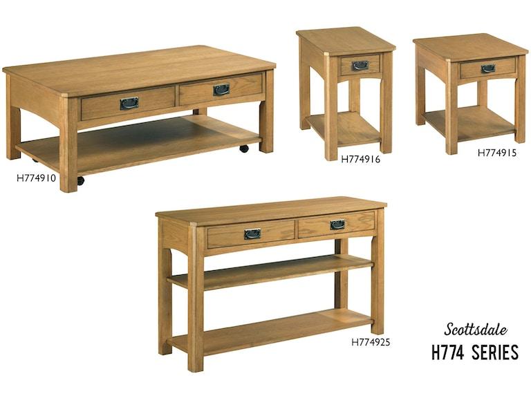 England Living Room Scottsdale H774 England Furniture