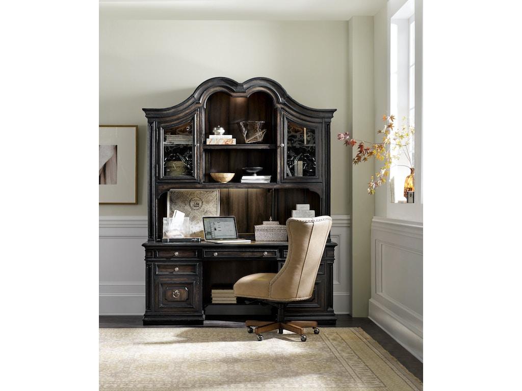 Hooker furniture lynn home office chair ec483 083 flemington department store flemington nj - Home office furniture outlet ...