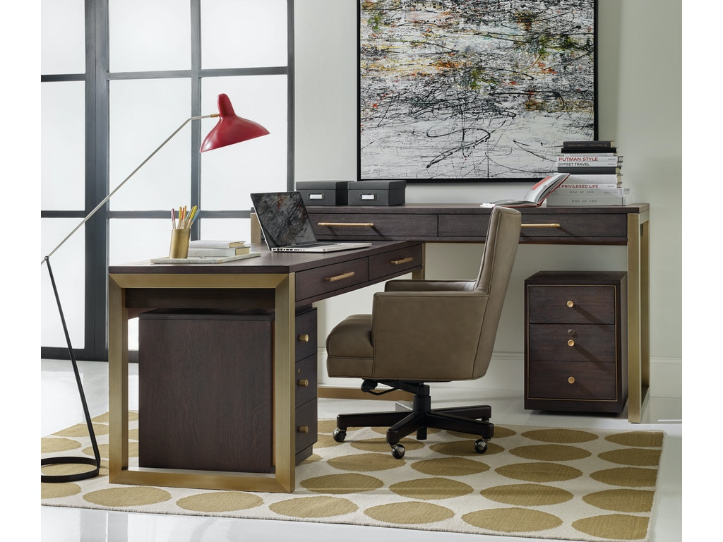 Hooker Furniture Home Office Curata Tall Left Right Freestanding Desk 1600 10473 Dkw