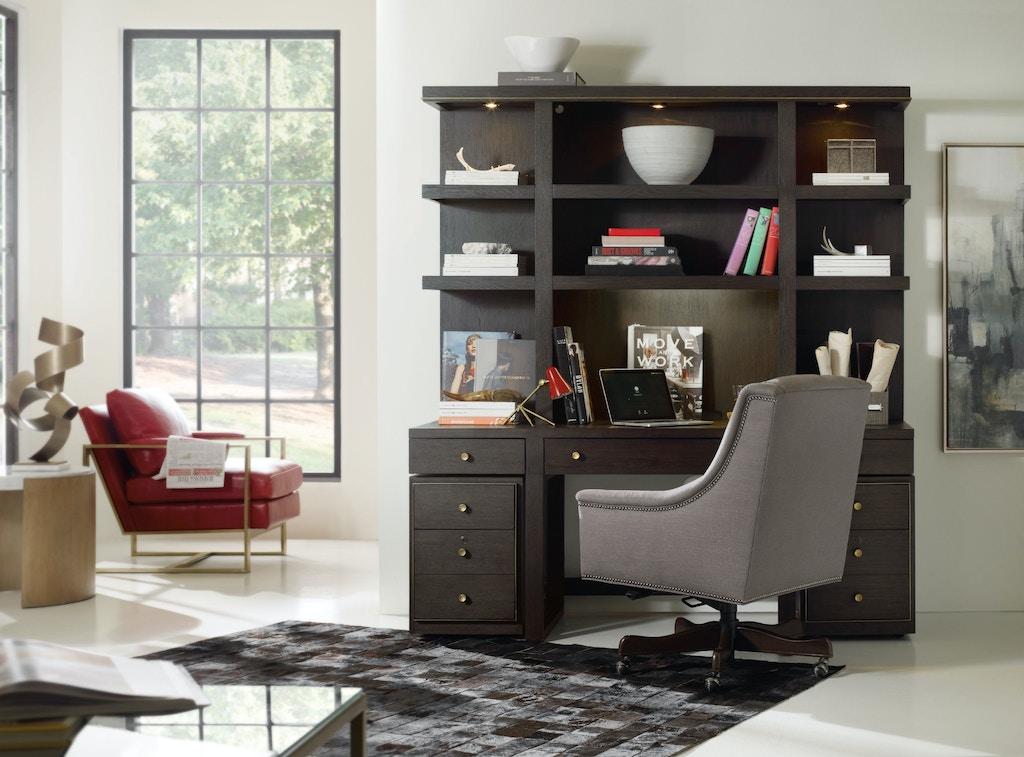 hooker furniture home office curata wall desk 1600 10464 dkw