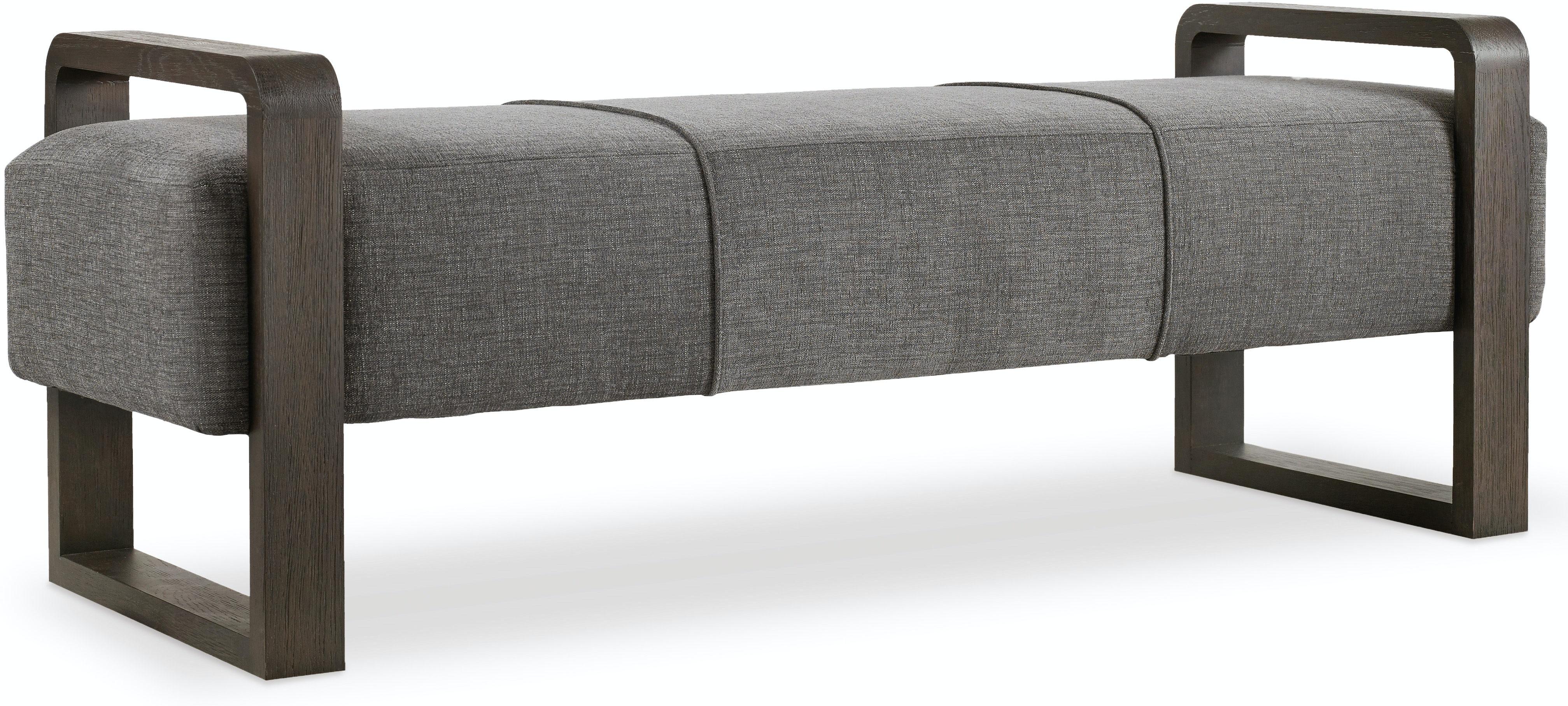 Furniture Living Room Curata Upholstered Bench 1600