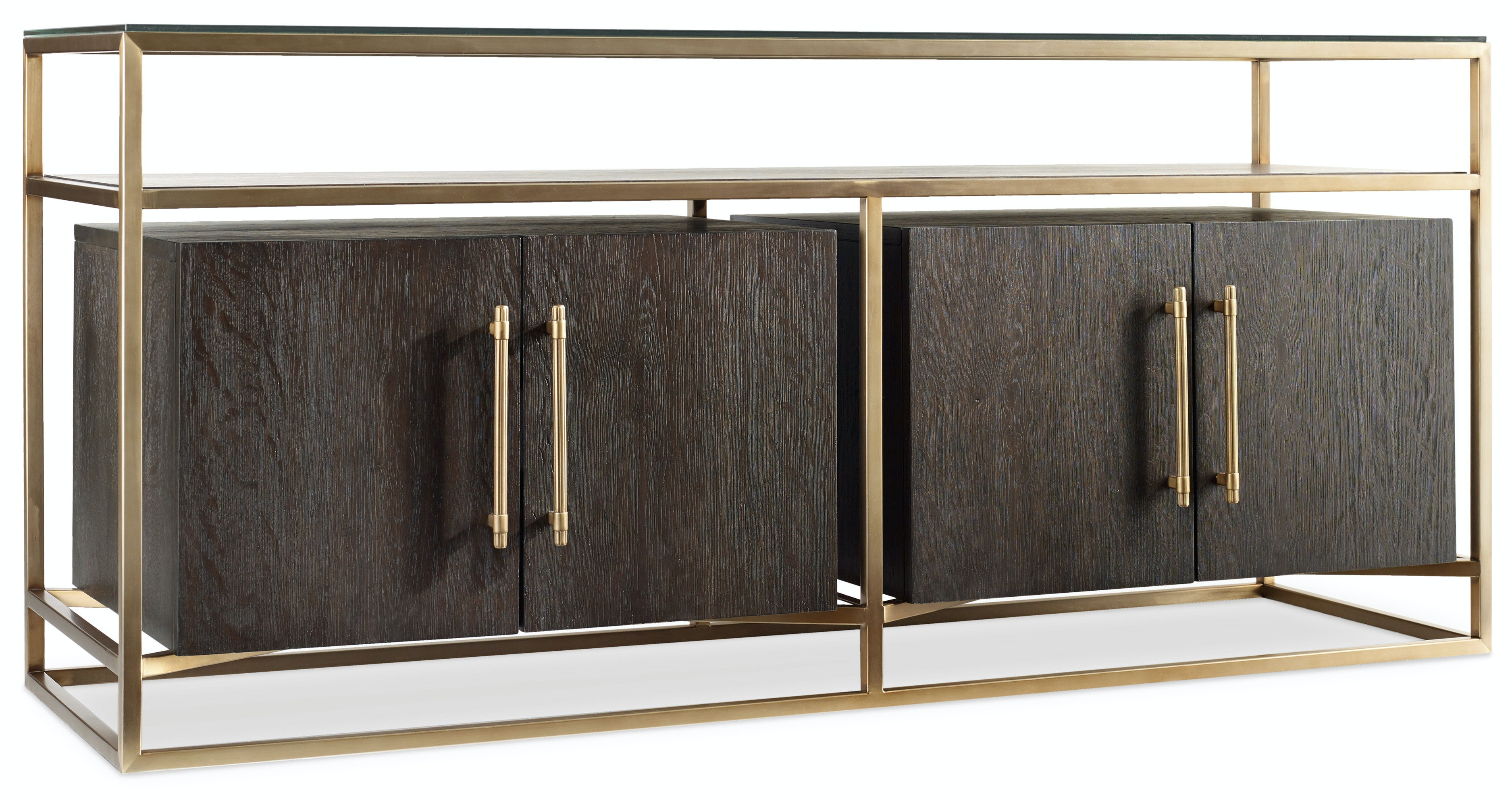 Hooker Furniture Curata Entertainment Console 66in 1600 55466 DKW