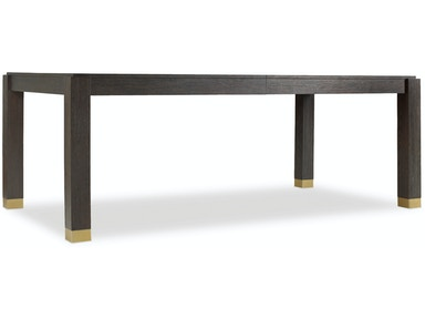 Hooker Furniture Curata Rectangle Dining Table w/2-20in leaves 1600-75200A-DKW