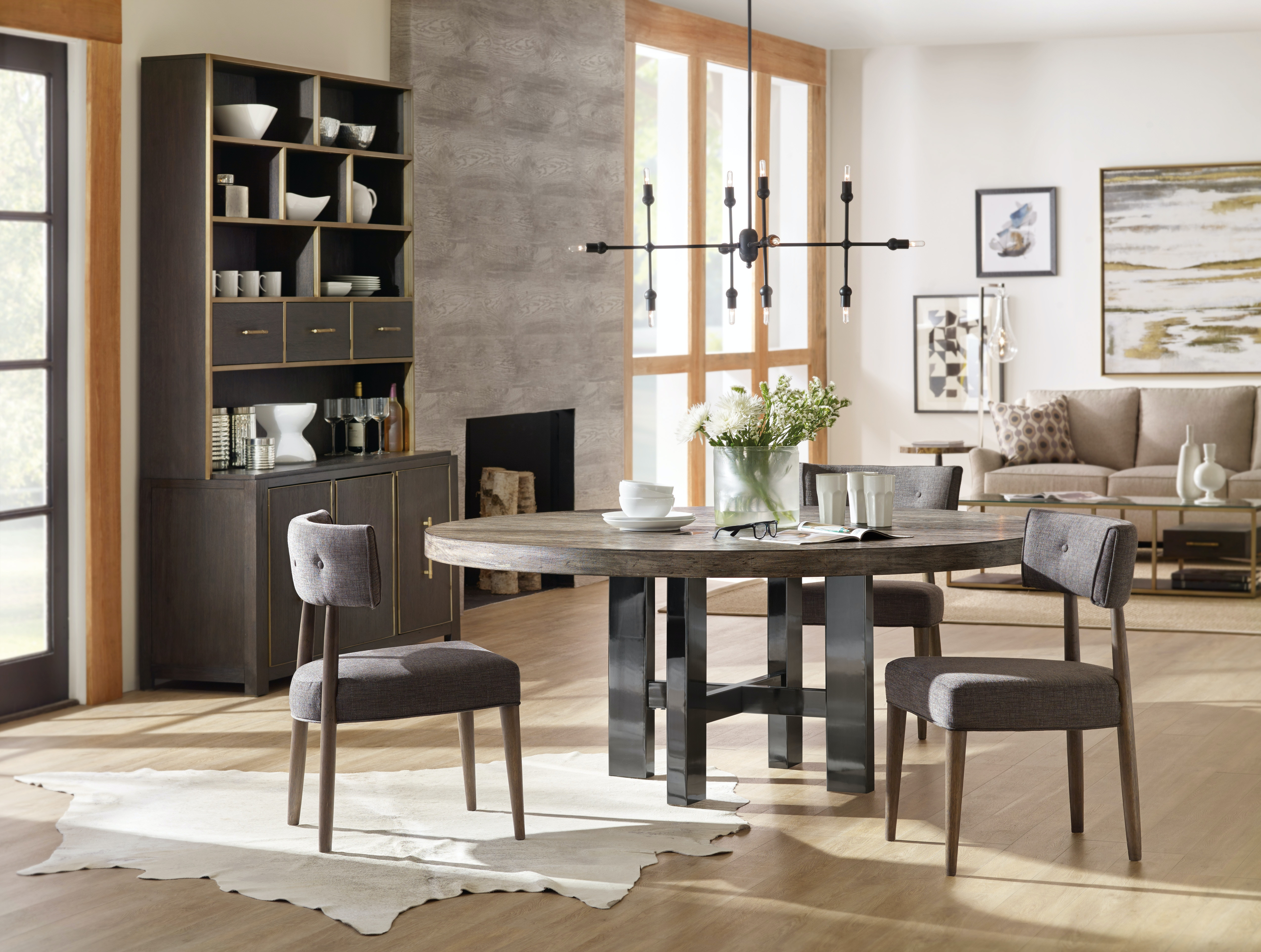 Hooker Furniture Dining Room Curata Upholstered Chair 1600 MWD