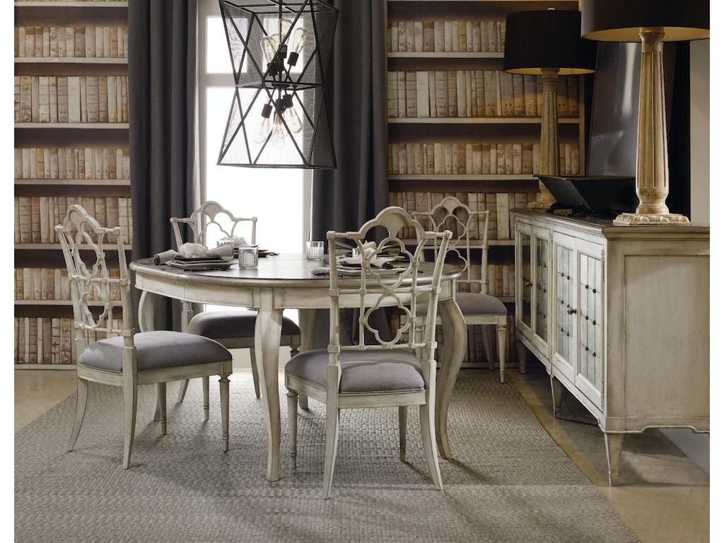 Hooker Furniture Arabella Four Door Credenza 1610 85006 WH