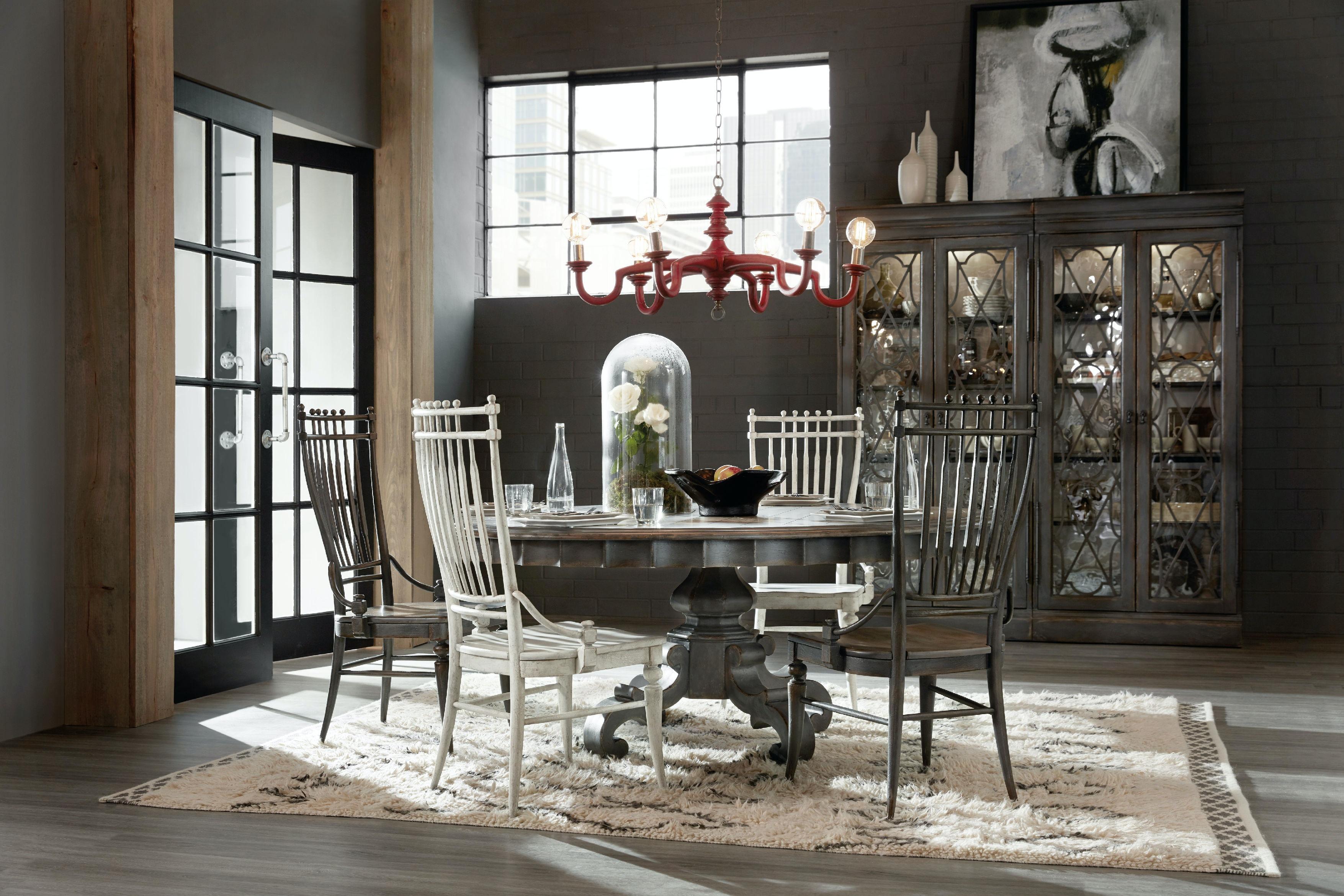 hooker furniture dining room arabella 72in round pedestal dining