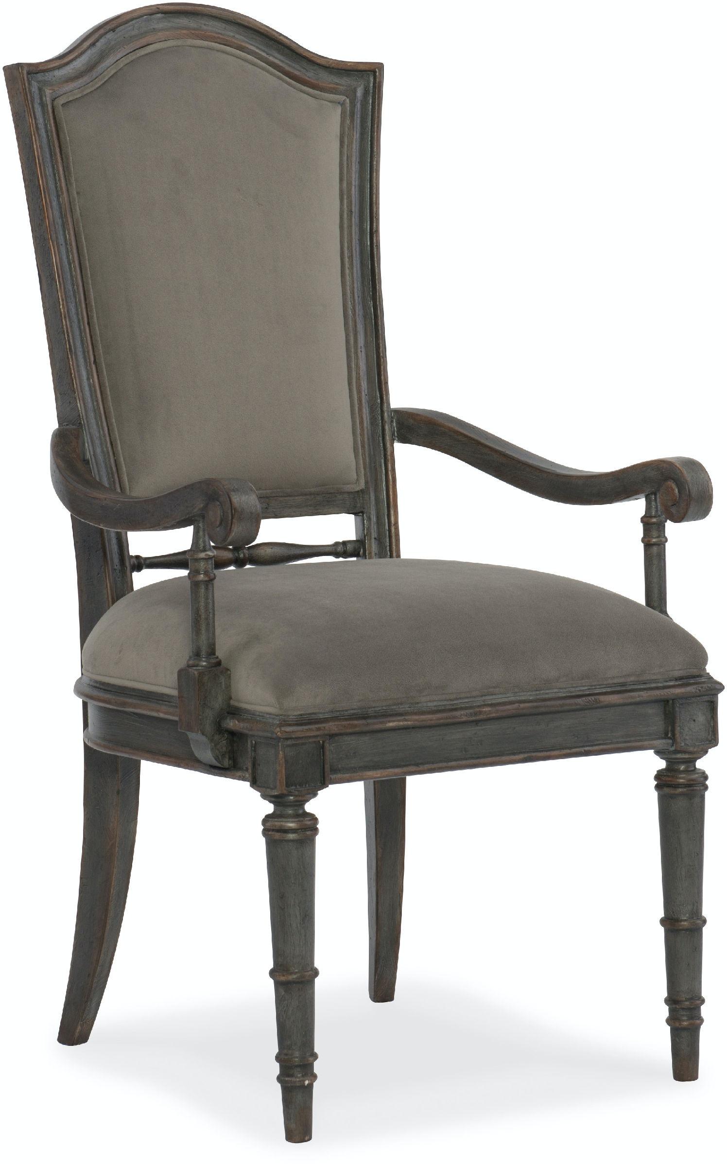 Hooker Furniture Dining Room Arabella Upholstered Back Arm