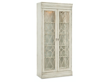 Hooker Furniture Arabella Bunching Display Cabinet 1610-75906-WH