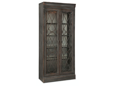 Hooker Furniture Arabella Bunching Display Cabinet 1610-75906A-GRY