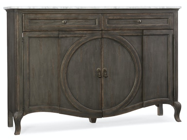 Hooker Furniture Arabella Four-Door Two-Drawer Credenza 1610-85005-GRY