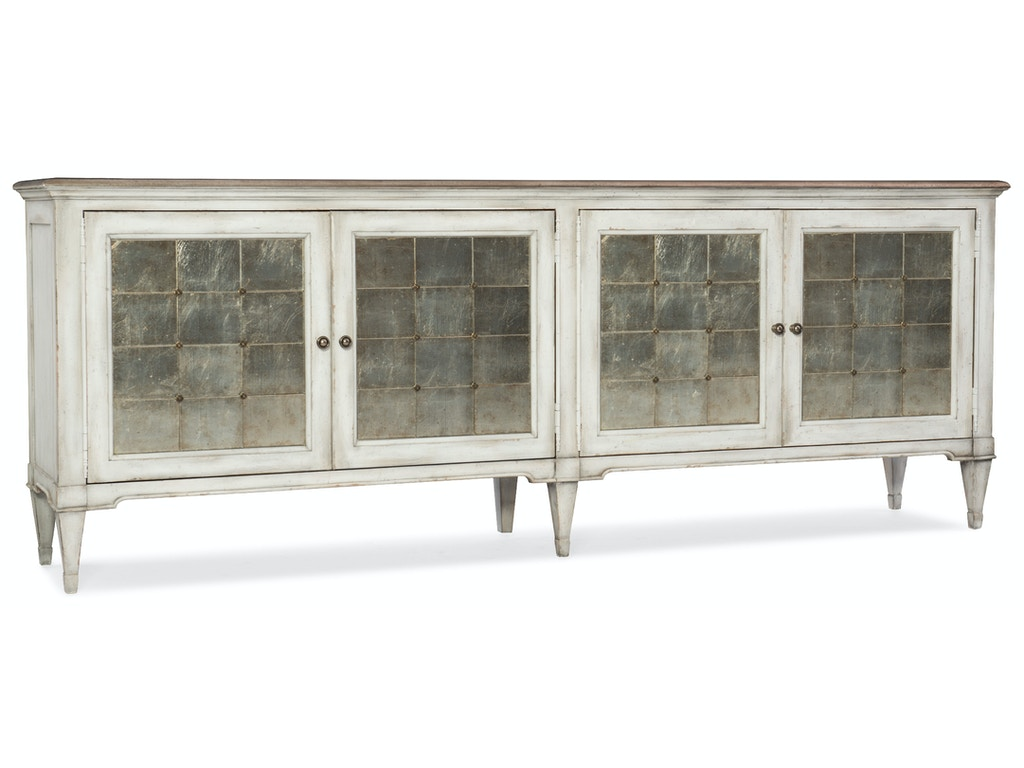 Hooker Furniture Living Room Arabella Four-Door Credenza 1610 ...
