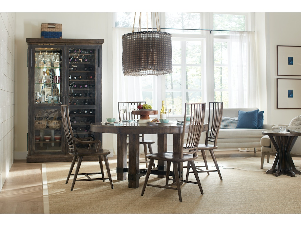 Hooker Dining Room Roslyn County Wine Cabinet 1618 75917 Dkw Grace Furniture Marcy Ny