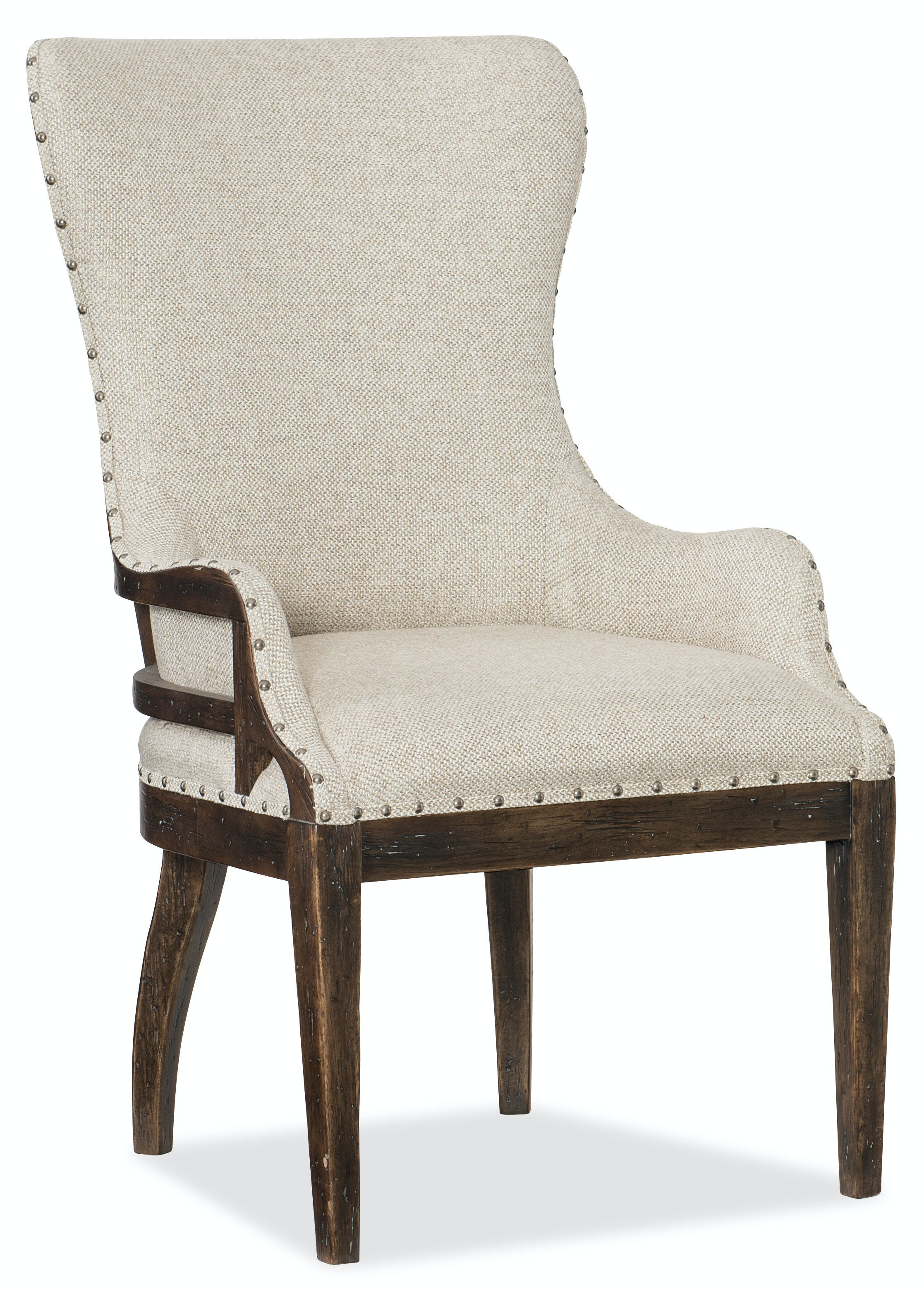 Hooker Furniture Roslyn County Deconstructed Upholstered Host Chair 1618-75500-DKW  sc 1 st  Hooker Furniture & Hooker Furniture Dining Room Roslyn County Deconstructed ... islam-shia.org