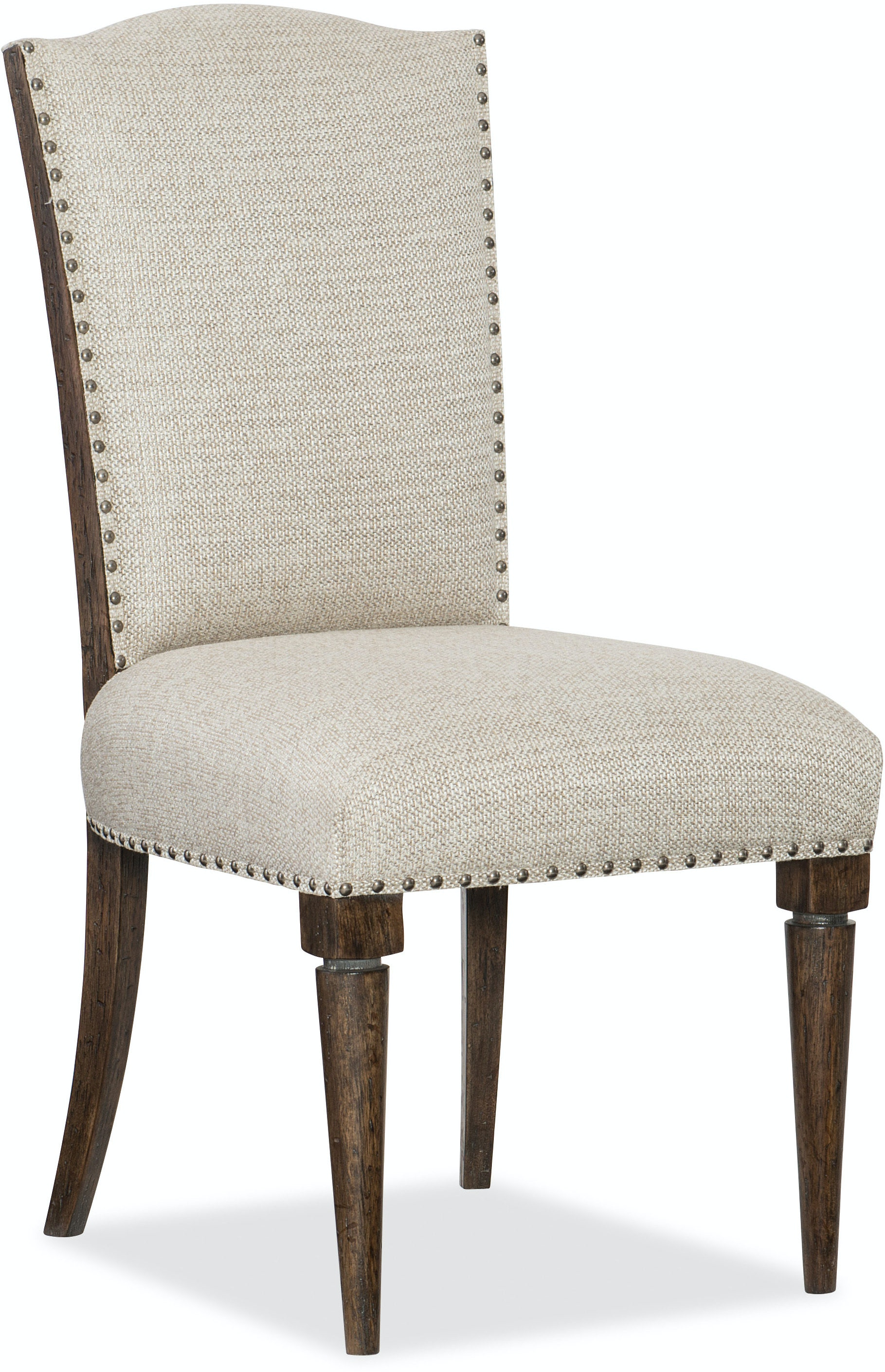 Hooker furniture dining room roslyn county deconstructed for Upholstered dining room side chairs
