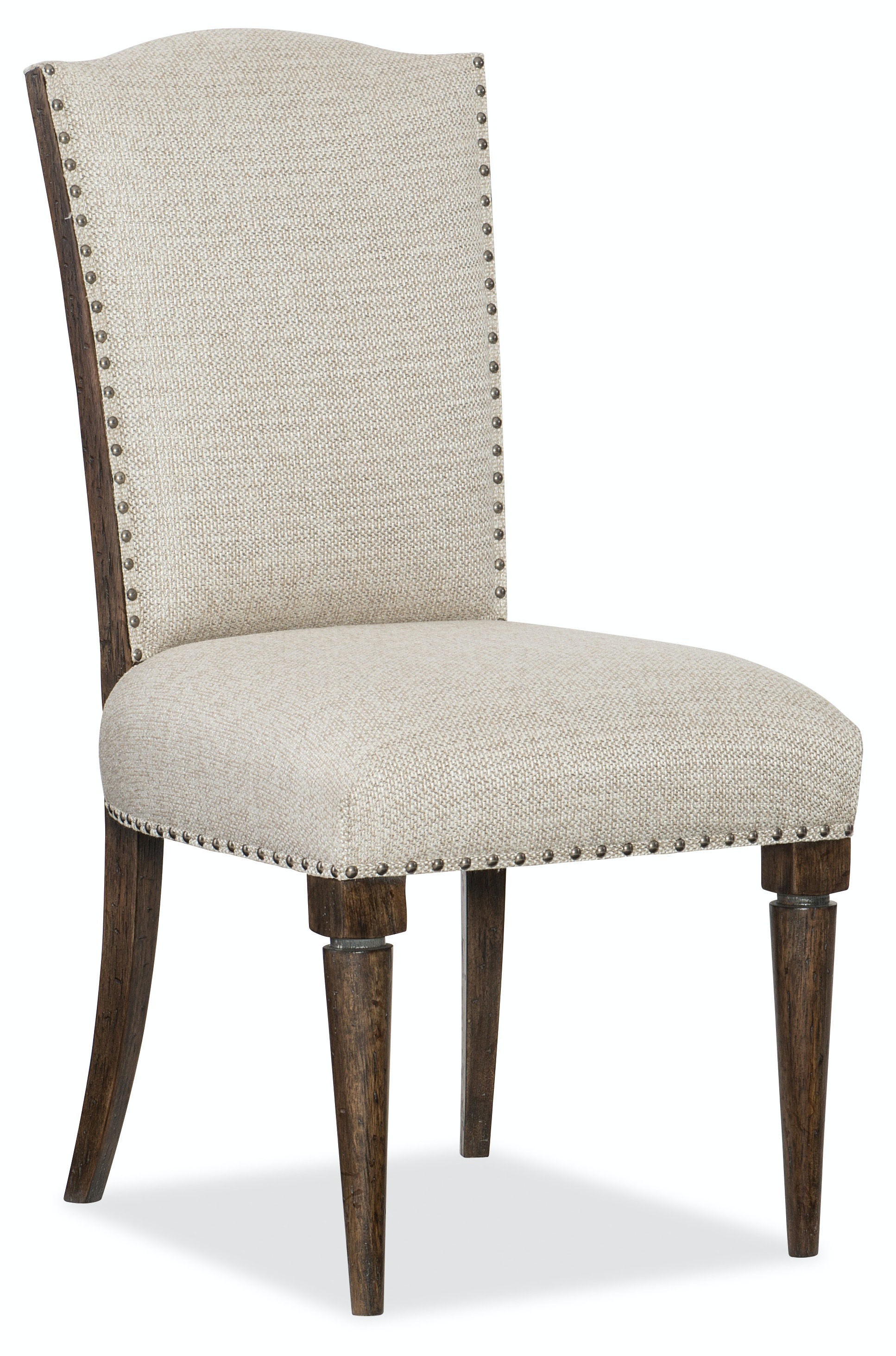 Hooker Furniture Roslyn County Deconstructed Upholstered Side Chair  1618 75710 DKW