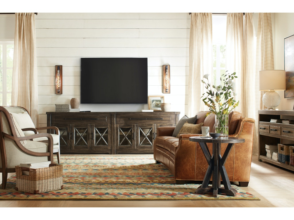 Hooker Furniture Living Room Roslyn County Credenza 1618-85001-DKW ...