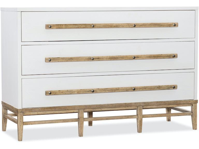 Hooker Furniture Bedroom Urban Elevation Three-Drawer Bachelors ...