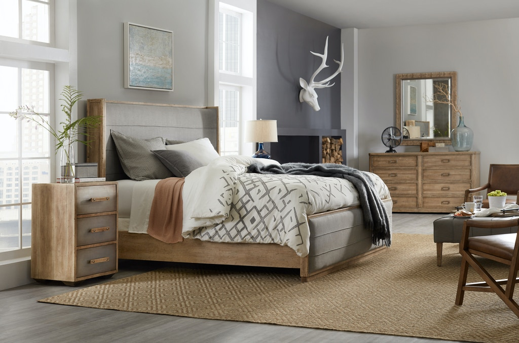 trim queen hooker furniture products width item sleigh archivistqueen with bedroom threshold height toffee archivist bed