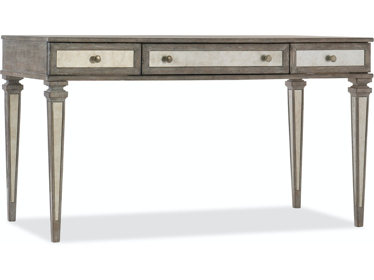 Furniture Home Office Rustic Glam Leg Desk 1641 10458 Ltwd At Norwalk