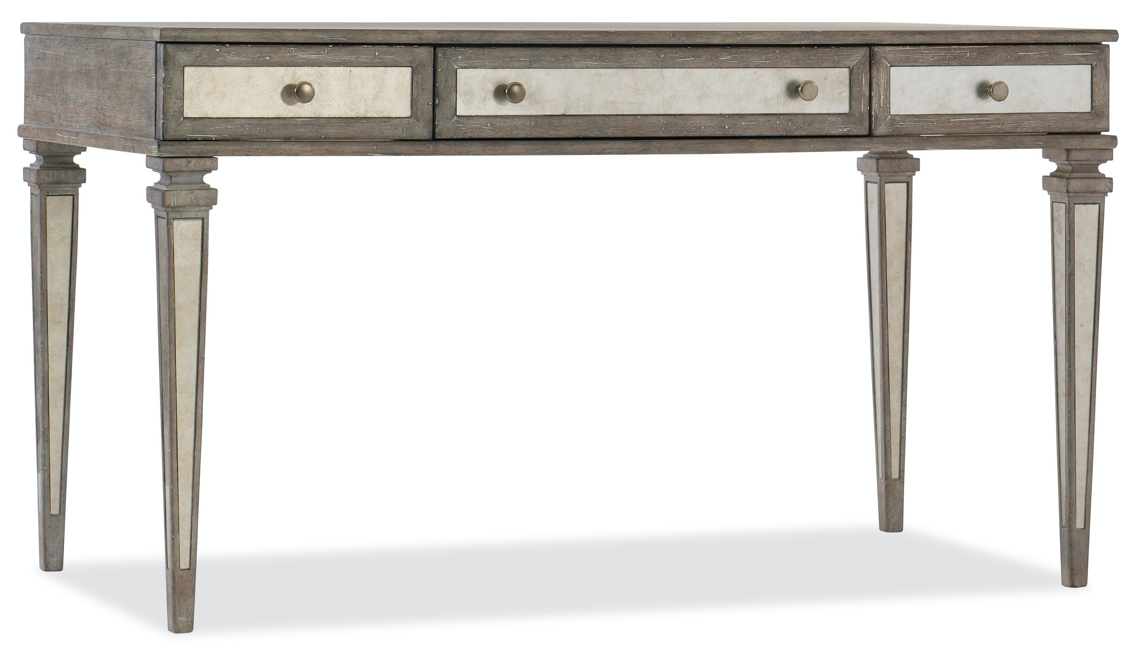 Rustic Glam Leg Desk 1641 10458 LTWD