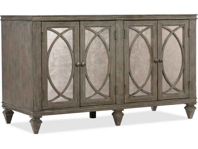 Hooker Furniture Home Office Rustic Glam Credenza 1641 10464 LTWD