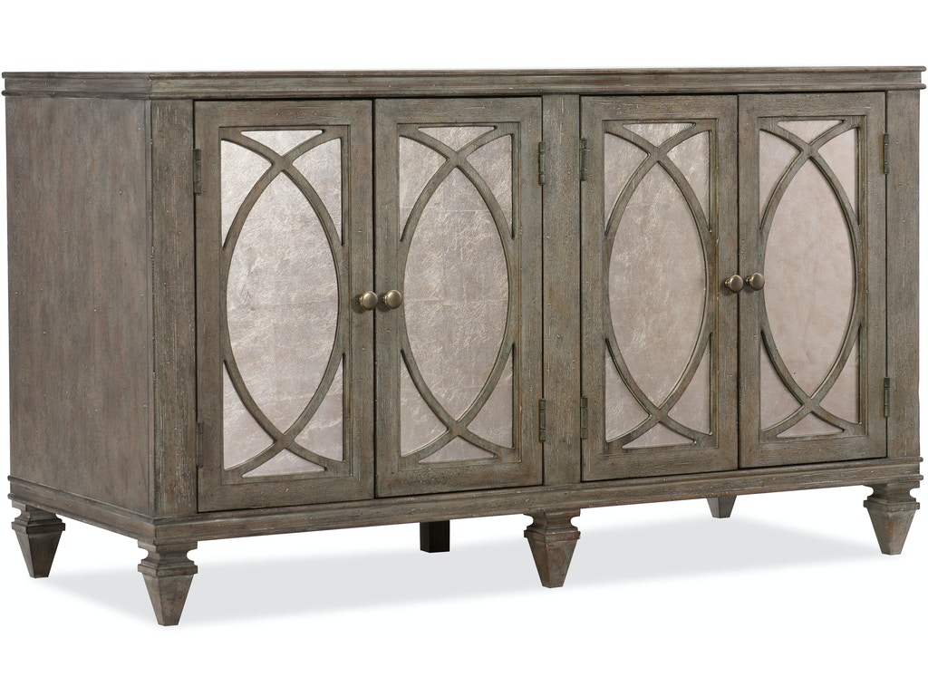 Hooker Furniture Home Office Rustic Glam Credenza 1641 10464 Ltwd Hatch Furniture Yankton