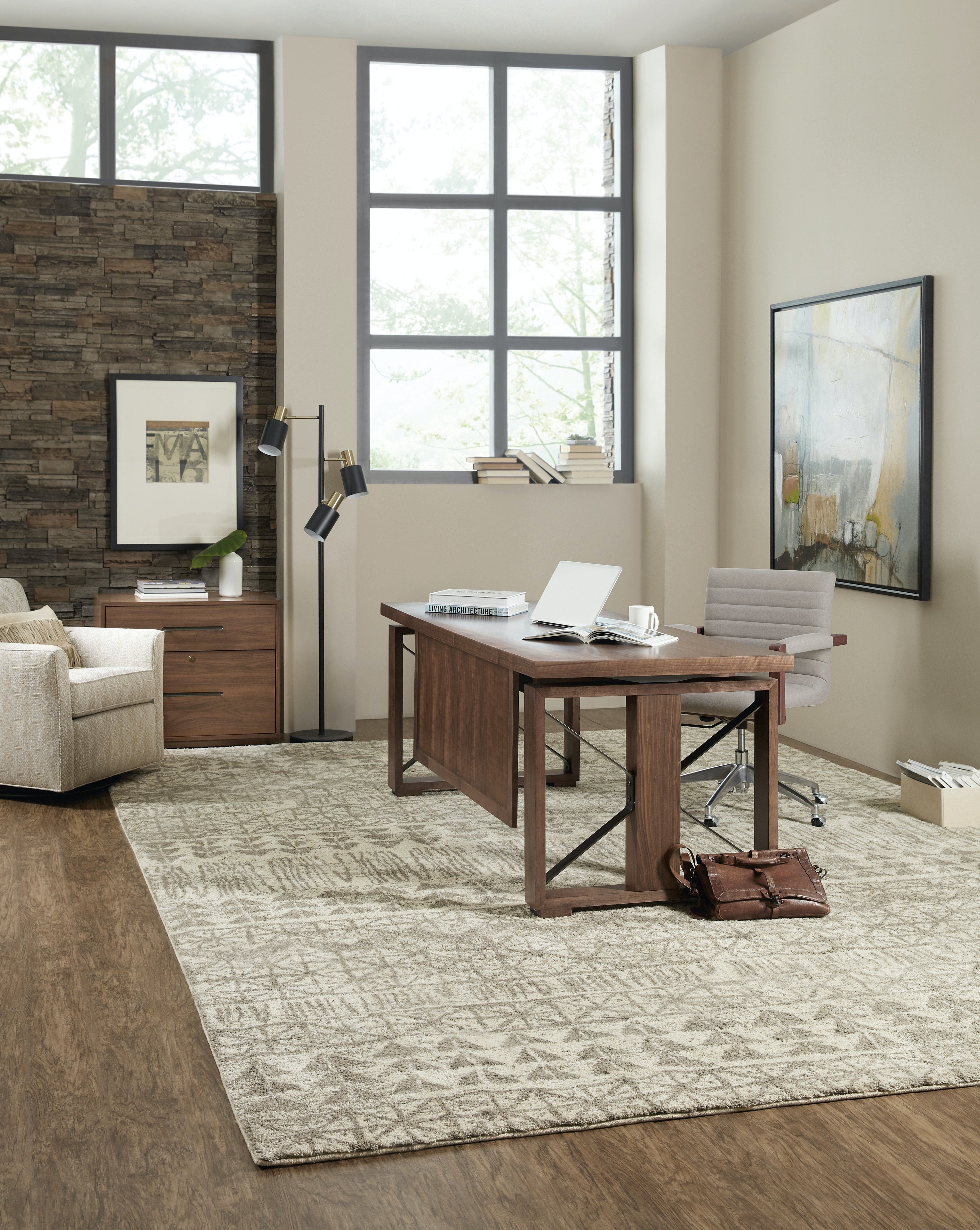 Bon Hooker Furniture Elon Modular Home Office
