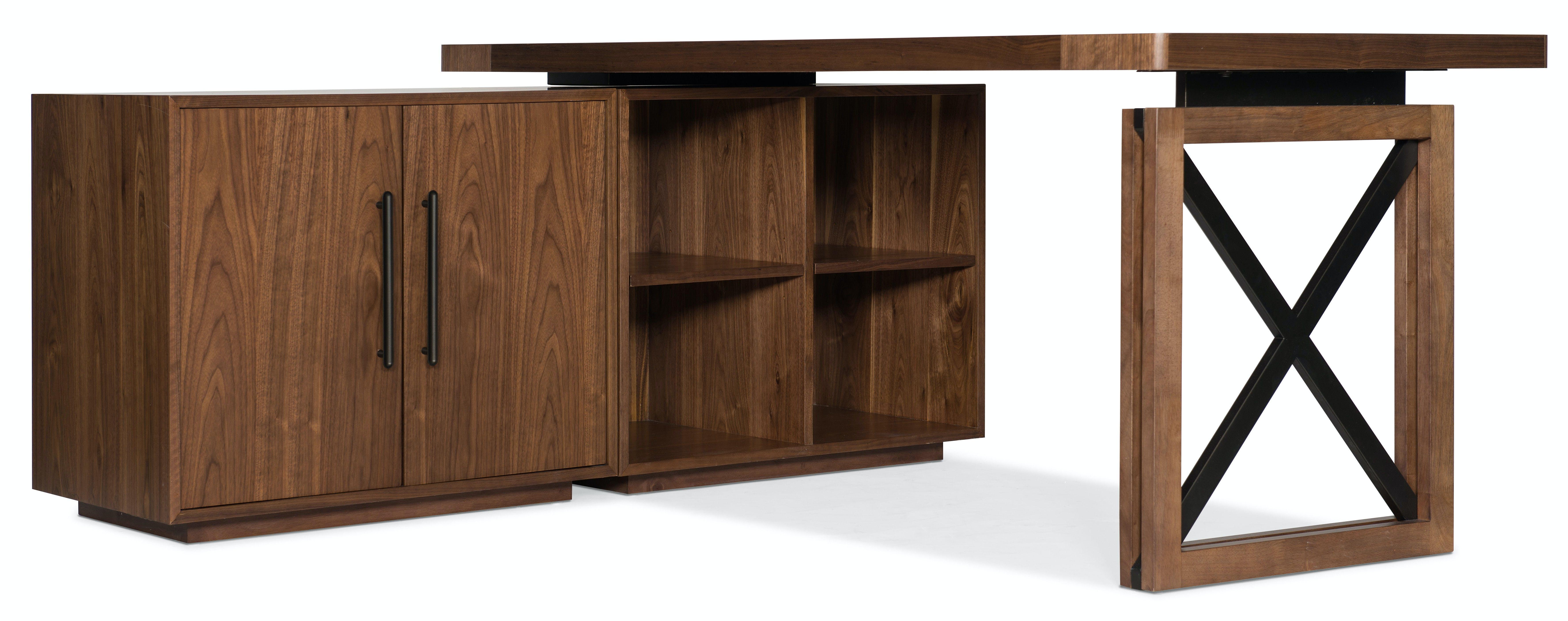 Hooker Furniture Home Office Elon Bunching Short Bookcase