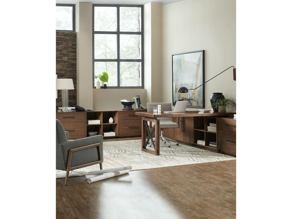 Hooker Furniture Home Office Elon Swivel Desk Chair 1650