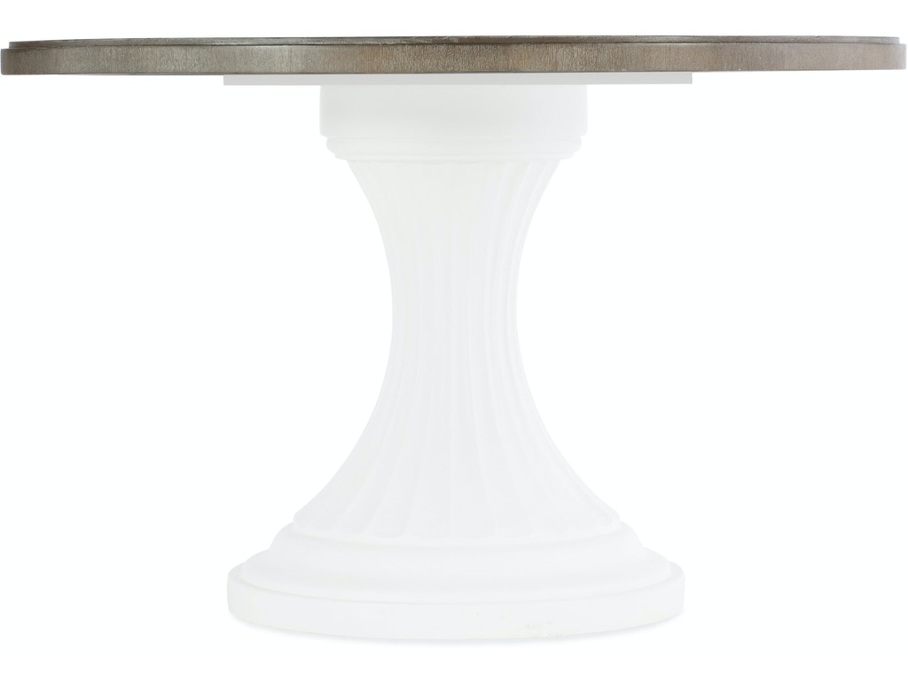 Hooker Furniture Dining Room Modern Romance 48in Round Pedestal Dining  Table Top HS165275002MWD Walter E. Smithe Furniture + Design