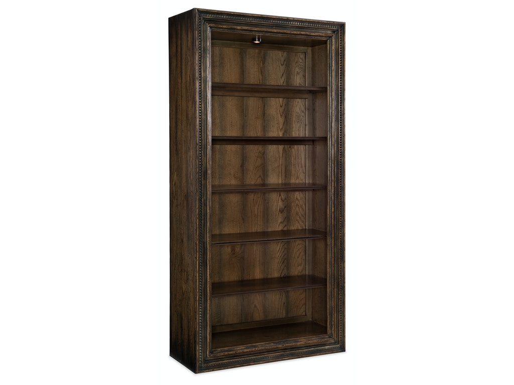 Hooker Furniture Home Office Crafted Bookcase 1654 10443 Dkw1 Flemington Department Store