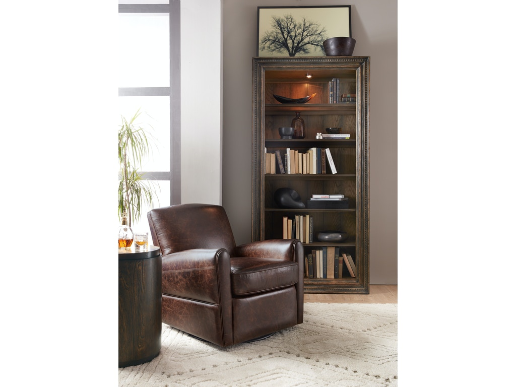 Hooker furniture home office crafted bookcase 1654 10443 dkw1 gladhill furniture middletown md - Home office furniture maryland ...