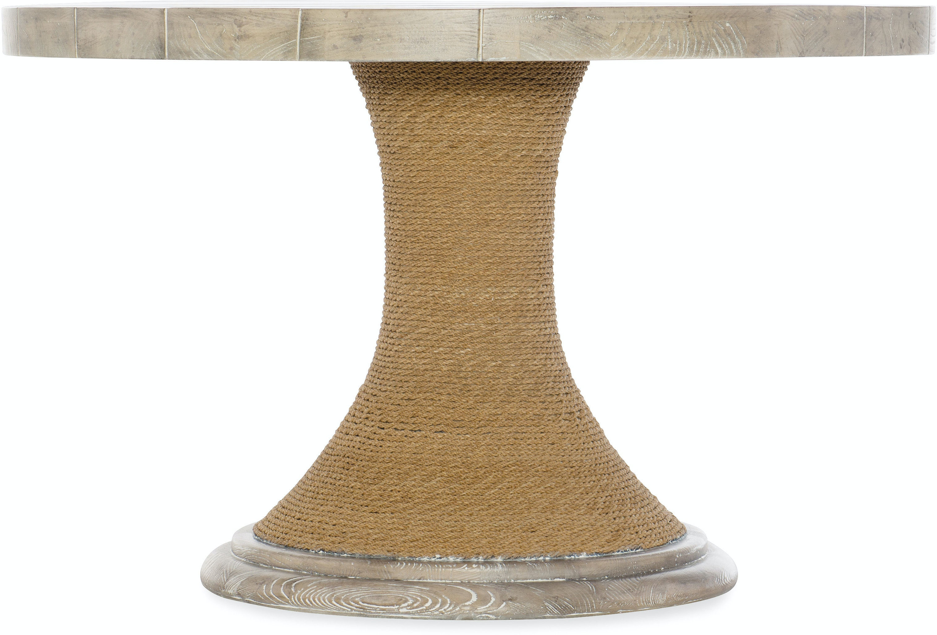 Hooker furniture amani 48in round pedestal dining table with wood top 1672 75203 80