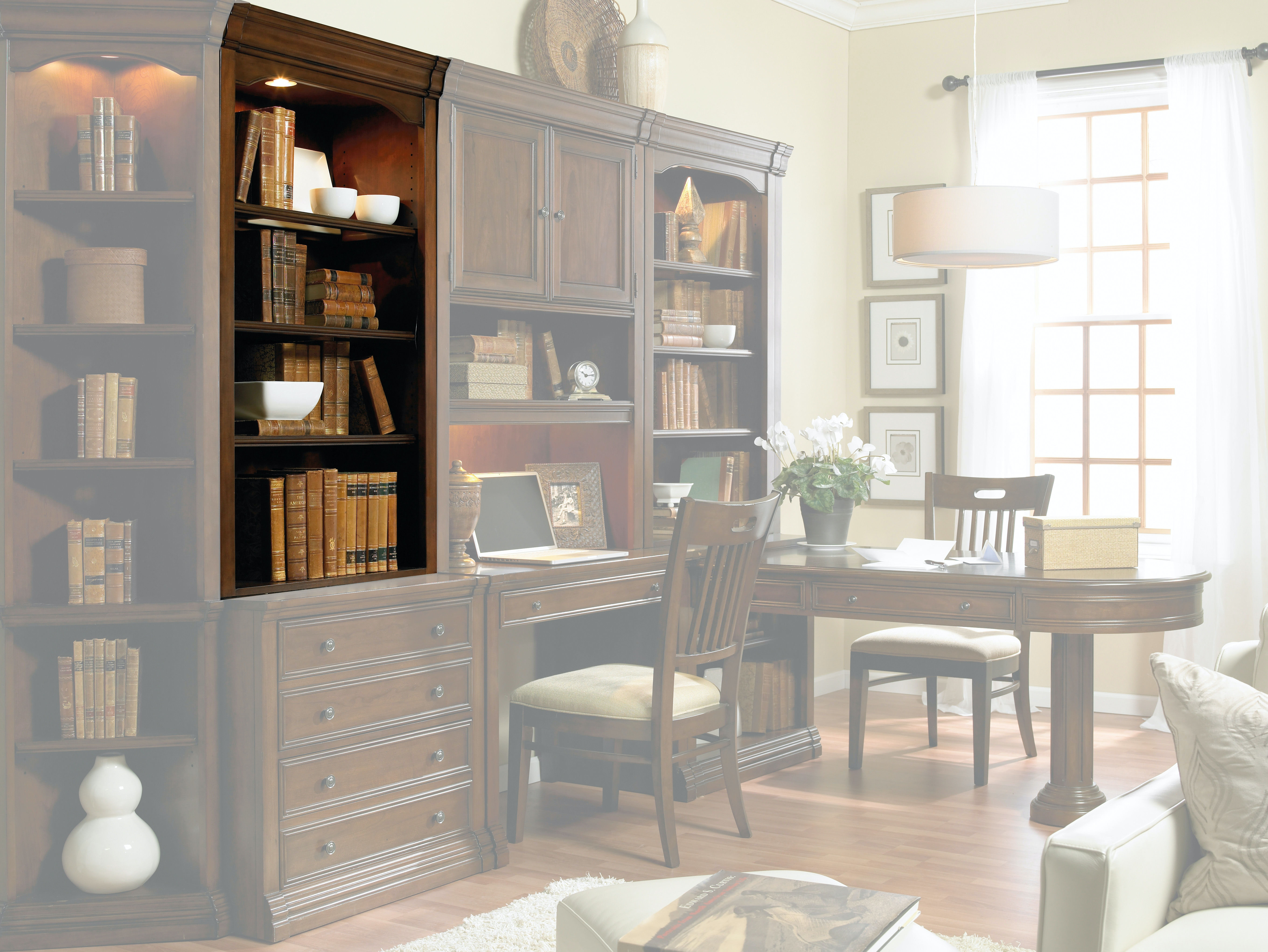 Hooker Furniture Home Office ec592 ch 088 wyatt home office Hooker Furniture Cherry Creek Open Hutch 258 70 417